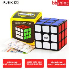 [HCM]Rubik 3×3 Qiyi Sail W Rubic 3×3 tầng Khối lập phương xoay mượt bẻ góc cực tốt siêu bền và chắc chắn BBShine – DC052
