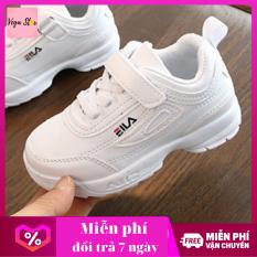 Giày sneaker nữ / giày thể thao nữ cho bé gái , giày thể thao bé gái hàng loại đẹp đế mềm êm chân cho bé từ 1 đến 4 tuổi