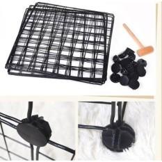 Tấm lưới sắt – Tấm tủ nhựa ghép – Làm chuồng thú – tặng chốt gắn