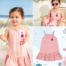Váy hai dây cá heo bé gái La Pomme