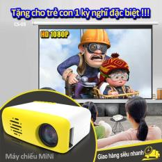 Máy chiếu mini cầm tay mang cả thế giới phim trong tay bạn, thiết kế nhỏ gọn, dễ dàng sử dụng, bảo hành 1 năm CS-03