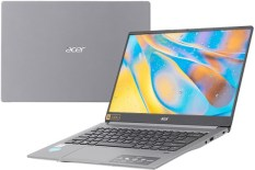 Máy tính xách tay Acer Swift 3 SF314-57-52GB- Core i5-1035G1 1.00 GHz-6MB – 8GBRAM- 512GBSSD- Intel UHD Graphics- 14FHDIPS- Webcam- Wlan ax+BT- FP- 3cell- Win 10 Home- Xám Steel Gray – 1Y WTY NX.HJFSV.001