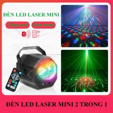 (Hàng Xịn) Đèn Sân Khấu, Đèn Vũ Trường Laser, Đèn Led Nhiều Tia Màu,Đèn laser sân khấu 60 hiệu ứng Pattern Magic Ball có điều khiển từ xa, công nghệ chiếu sáng mới nhất,Cảm Ứng Nhạc+ USB +Remote, Đèn Led Chớp – Pha Sân Khấu Mini