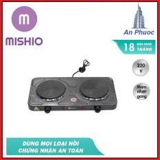 Bếp Điện Đôi Mishio MK144 – Mâm Nhiệt Cao Cấp – Giữ Nhiệt Lâu – Công Suất 2000W – Phân Phối Chính Thức Bởi Mishio – Bảo Hành 12 Tháng
