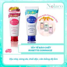 Tẩy tế bào chết Rosette Gommage + Tặng kèm nước hoa khô mini 30k + Dịu nhẹ, sáng da, thải độc, cân bằng độ ẩm + NOLACO