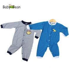 Bộ Bodysuit Tay Dài Quần Dài BÉ TRAI BabyBean (Mẫu Ngẫu Nhiên)