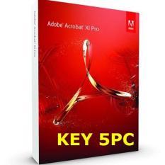 Phần mềm tạo sửa PDF Adobe Acrobat XI Pro – Key 5PC