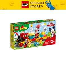 LEGO DUPLO 10941 Đoàn Tàu Sinh Nhật Của Mickey & Minnie ( 22 Chi tiết)