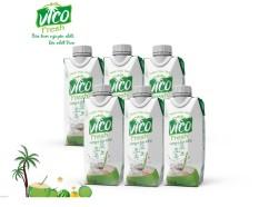 Combo 6 hộp 330 ml dừa Xiêm Vico Fresh