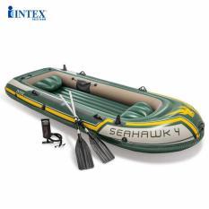 Thuyền bơm hơi Seahawk 4 người INTEX 68351 – Thuyền bơm hơi, Thuyền phao