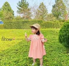 ❤️Sale sập sàn❤️Váy hoa cổ ren bé gái siêu cute từ 10-25kg
