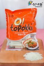 Bánh gạo Topokki vị cay phomai 500g (Gói)Yopokki kèm nước sốt