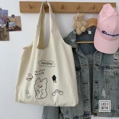 Túi tote thời trang cao cấp hàng nhập Quảng Châu, túi vãi , túi quai lền thiết kế tỉ mĩ hợp thời trang