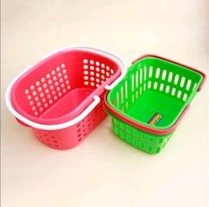 Giỏ đựng đồ đa năng có quai xách nhựa Việt Nhật cao cấp. Đựng xà phòng, Mỹ phẩm. Tiện dụng cho cả giá đình