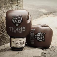 Găng tay boxing Tigris Vintage – Nâu
