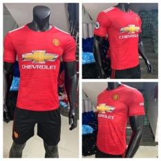 Bộ quần áo bóng đá MU đỏ sân nhà mới nhất 2021