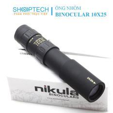 Ống nhòm, ống nhòm Nikula 10-30×25, ống nhòm một mắt, ống nhòm đơn giá rẻ cao cấp – Fullbox