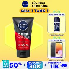 Sữa rửa mặt Ngừa mụn Sạch sâu NIVEA MEN Himalaya Deep Rapid Acne Oil Clear (100g) – 88521