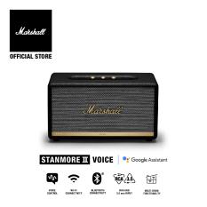 [Voucher 8% tối đa 500k][Hàng chính hãng] Loa Bluetooth Marshall Stanmore II Voice with Google Assistant Homeline – 1 năm bảo hành (Đen)