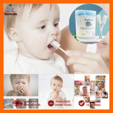 [Hộp 30 gói] Gạc rơ lưỡi Babuu vệ sinh răng miệng cho bé 30 gói