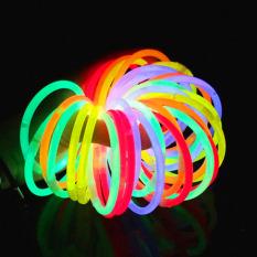 Set 10 que vòng tay phát sáng dạ quang đủ màu sắc rực rỡ vừa làm vòng tay vừa làm đồ chơi sáng tạo cho bé BBShine – DC025