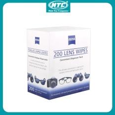Giấy Zeiss Lens Wipes – Giấy lau Lens ống kính lens máy ảnh ống kính ống nhòm màn hình (Trắng) – Nhất Tín Computer