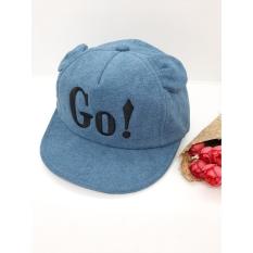 nón GO chất liệu mềm mại cho cả bé trai và gái