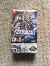 Đĩa trò chơi điện tử Nintendo Switch valkyria chronicles 4 collector's edition
