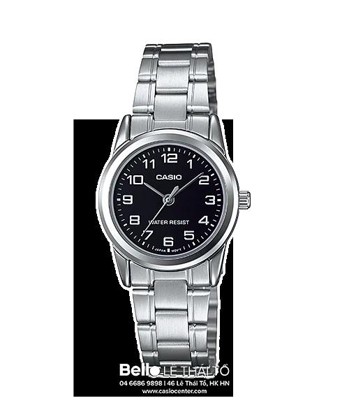 Đồng hồ Casio Nữ LTP-V001D-1B bảo hành chính hãng 1 năm – Pin trọn đời