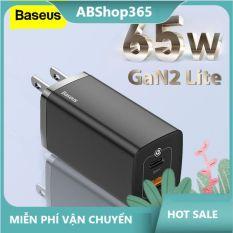 [Màu trắng] Cốc sạc nhanh BASEUS GaN2 lite 4.0 3.0 AFC SCP USB PD dành cho Macbook Pro iPad iPhone 12 11Pro Max Samsung HUAWEI