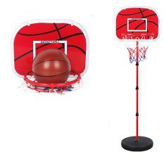 [TẶNG BÌNH NƯỚC] Bộ đồ chơi bóng rổ cho bé Baseketball (trụ sắt cao 170cm) giúp bé phát triển chiều cao