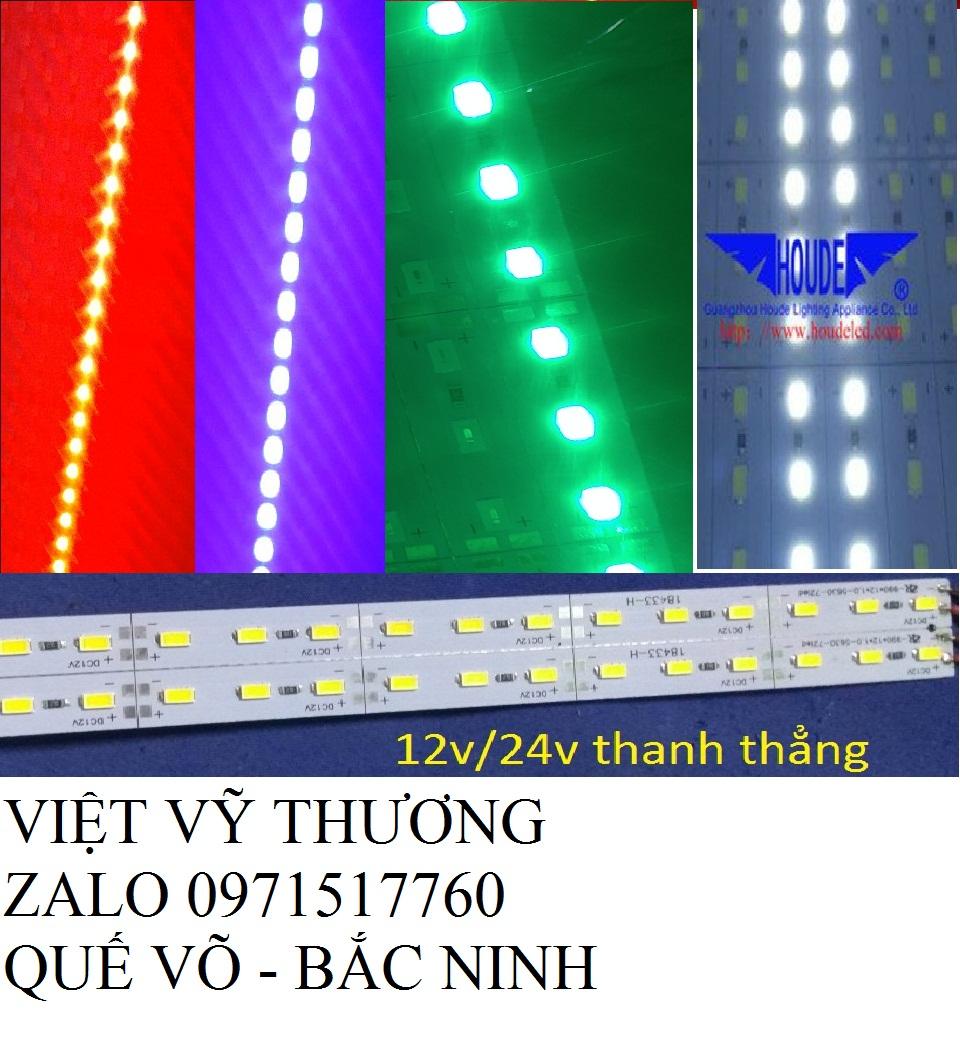 led thanh 5730,5630 siêu sáng loại 12v 1m bảo hành 1 năm