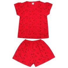 SÉT 3 Bộ quần áo in hình mèo dễ thương 100% cotton co giãn 4 chiều cho bé gái 3BMKB ( ảnh và video thật) -Kiba Baby