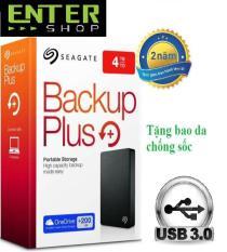 Ổ cứng di động Seagate Backup Plus Slim 4TB+Tặng bao da chống sốc