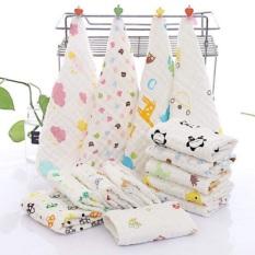 Khăn xô 6 lớp rửa mặt loại dày họa tiết dễ thương cho bé