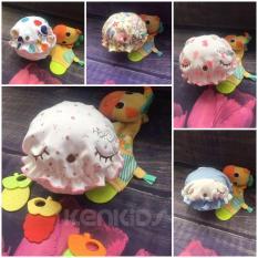 COMBO 3 Nón/ mũ nhún bèo chất thun mềm HotGa cho bé gái (0-6m)
