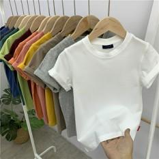 Áo thun basic cổ tròn nhiều màu cho bé – QATE614