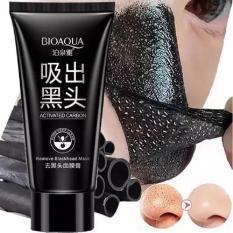 Gel Lột Mụn Và Thải Độc Than Tre Bioaqua 60g 1 bước tiện lợi hút sạch mụn cám bã nhờn và bụi bẩn cho làn da sạch mụn mịn màng trắng sáng