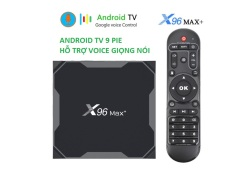 X96 MAX Plus Amlogic S905X3 Android 9 eMMC 4K TV Box USB3.0 Ram 2Gb rom 16GB