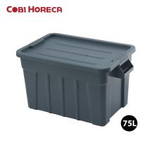 Thùng nhựa đựng đồ đa năng chịu lực 75L có nắp COBI HORECA TRUST mã 3012WH/ 3012RD / 3012GY – (75L)