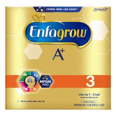 Sữa bột Enfagrow A+ 3 BIB 2,2 kg, HÀNG CHÍNH HÃNG, DATE 2022