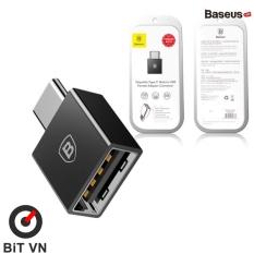 Đầu chuyển OTG USB Type C sang USB Full size Baseus (TYPE C Male to USB Female Cable Adapter Converter) – BiT VN