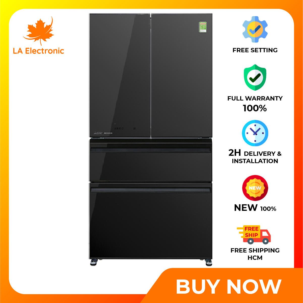 Trả Góp 0% – Tủ lạnh Mitsubishi Electric Inverter 564 lít MR-LX68EM-GBK-V – Miễn phí vận chuyển HCM