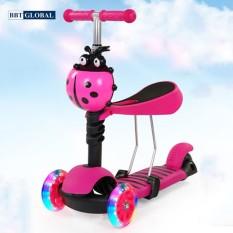 Xe trượt Scooter trẻ em cho bé 3 trong 1 BBT Global SK1305 – đồ chơi vận động, thông minh, chính hãng