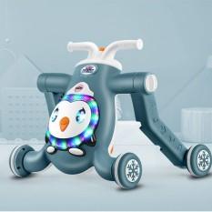 Xe tập đi cho bé có tay đẩy đa năng có nhạc BABYPARK 3IN1 – Xe Tập Đi – Xe Chòi Chân – Xe Scooters