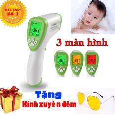Nhiệt Kế Đo Nhiệt Độ Sữa – Nước – Thức ăn – Đo nhiệt độ phòng cho bé