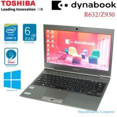 Laptop Toshiba Dynabook R632 Core i5/ 6G ram / SSD 128G/ 13.3 inch HD siêu mỏng nhẹ – Bảo hành 3 tháng
