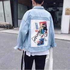 Áo Jean Nam in Hình Mặt Người ,Kiểu Dáng Cool Boy, Mặc Mát .XT