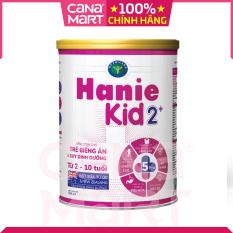 Sữa bột Nutricare Hanie Kid 2+ dinh dưỡng chuyên biệt cho trẻ biếng ăn, suy dinh dưỡng (900g)