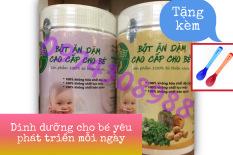 1KG Bột ăn dặm Việt Organic – trẻ bắt đầu ăn dặm